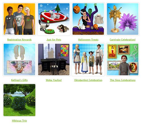 Sims 3 Store: Many Free Sets Removed | SimsVIP