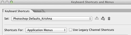 Photoshop CS6 customizations