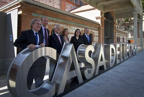 Isabel Rosell asiste a la presentación de la sede de la Casa del Lector en Matadero-Madrid (04 octubre 2012)