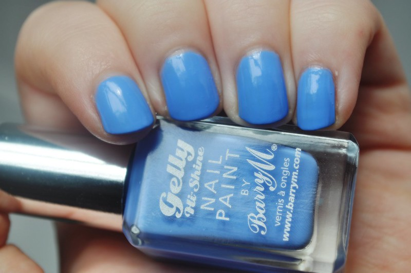 barry m blueberry gelly notd nail polish