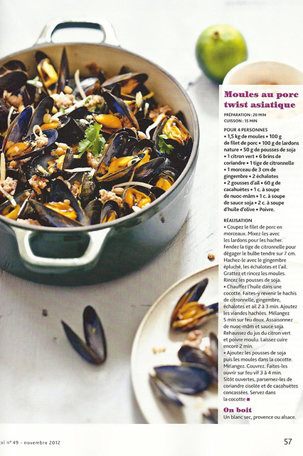 Regal Mag / Moules cochon coriandre