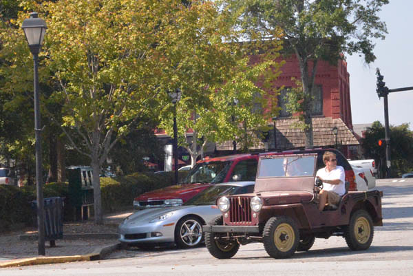 Old Willys Jeep Madison