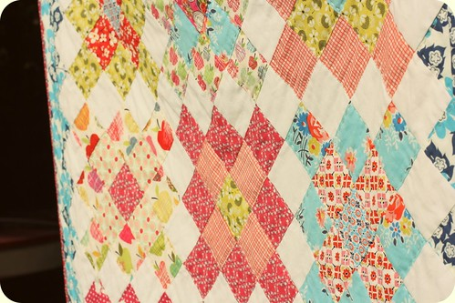 Short Trips Baby Quilt - b