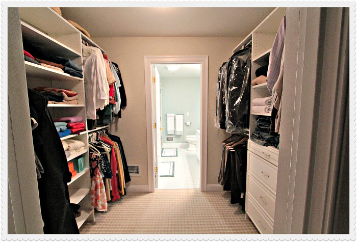Me and wee master bathroom design for Master bathroom designs with walk in closets