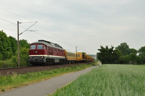 DGT 232 550 met kettinghor, Gänheim, 31-05-2012