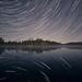 Star Trails @ Maggie Lake by byronjyu