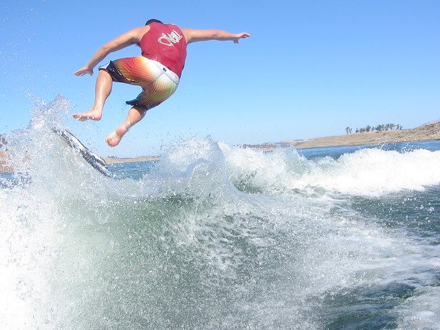 Early October Wakesurfing 637