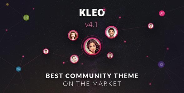 KLEO v4.1.4 - Next level WordPress Theme
