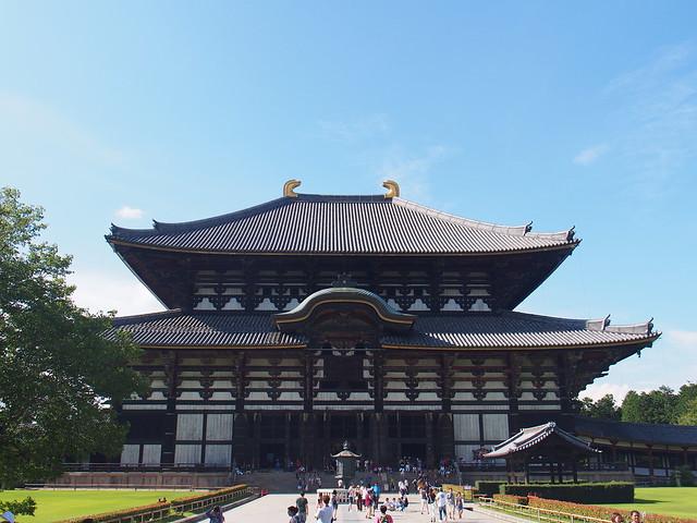 奈良東大寺大佛殿(金堂)