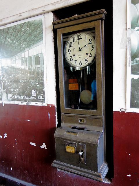 Reloj Control International IBM