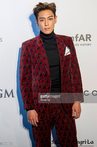 TOP - amfAR Charity Event - Red Carpet - 14mar2015 - Getty Images - 03