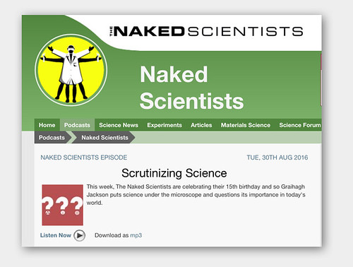 Naked Scientist Web Page