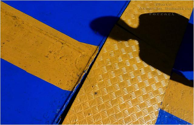 Giallo e blu - dedicata all'amico Pietro Forti