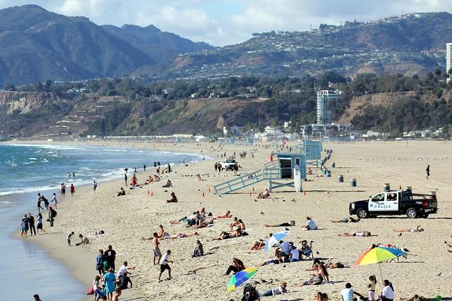Beach - Santa Monica, California, USA