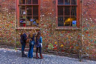 Gum Wall Girls