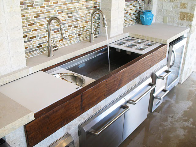 The coolest kitchen appliance kara paslay design for Galley kitchen sink