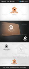 Eye House Logo Template