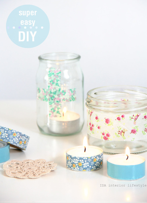 SuperEasy DIY {for the last minute table setting}