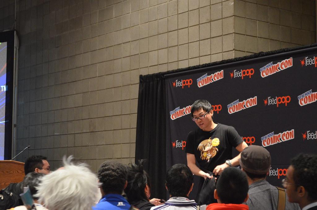 New York Comic Con 2012 Danny Choo