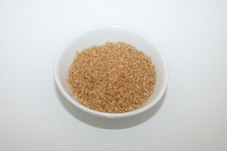 06 - Zutat Rohrzucker / Ingredient cane sugar