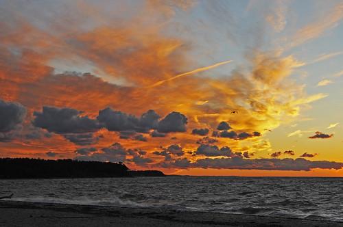 sunset newyork clouds longisland northfork