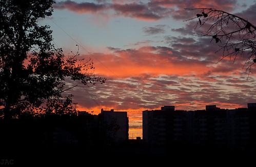 Lever du soleil d'Octobre