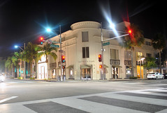 Dayton Way/Rodeo Drive Intersection - Beverly Hills, Los Angeles, CA.
