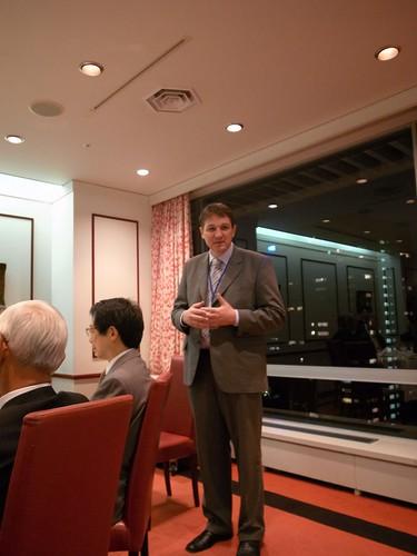 スロヴェニア共和国財務大臣とのディナー
