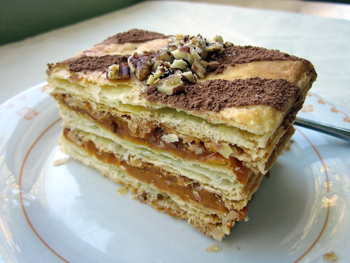 Pumpkin-Butterscotch Mille-Feuille (Napoleon)