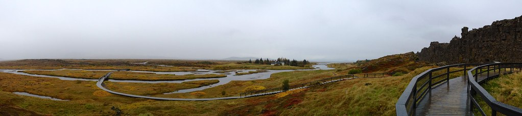 AlÞing (site of the world's first parliament), Þingvallir, Ísland