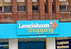Lewisham Shopping Centre East Exit by Julie70