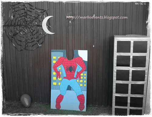 Photocall. Kit de fiesta spiderman. Merbo events