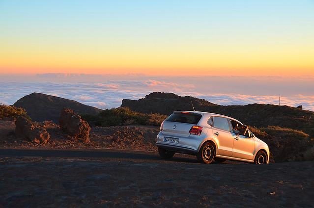 En coche de alquiler por las Islas Canarias
