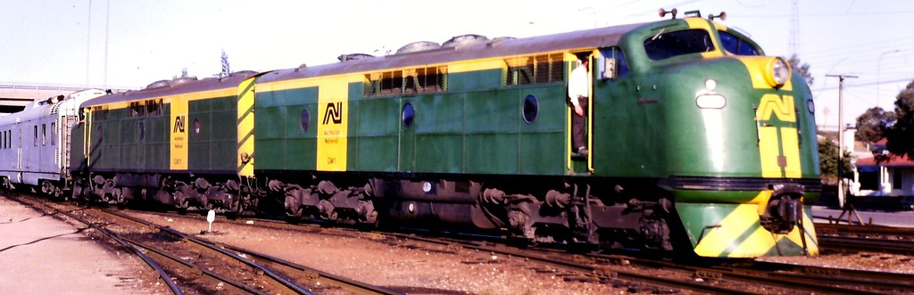 GM 1 Australian National Green & Gold Port Pirie 10th May 1983 by StArnaudRails