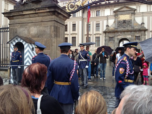 Prague Changing of the Guard