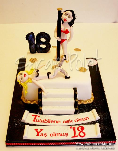 + 18 striptiz pastası