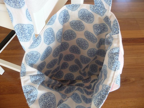 Lining of tote