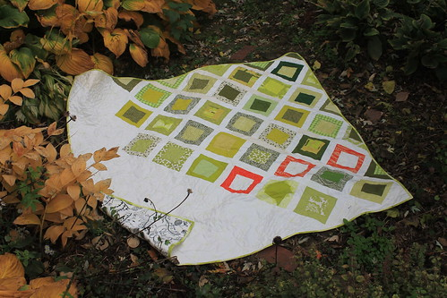 Fall Gardens Wedding Quilt