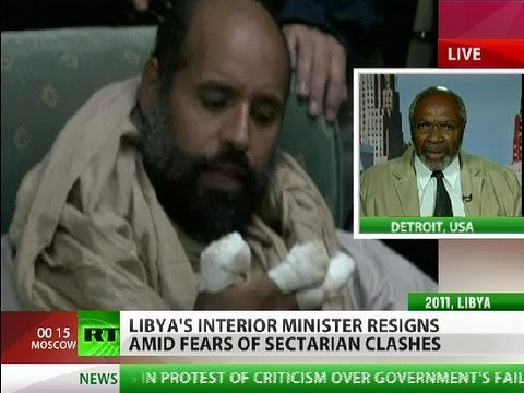 Abayomi Azikiwe, editor of the Pan-African News Wire, speaking on RT worldwide satellite television news on the current situation in Libya. Azikiwe is a frequent guest of several international media outlets. by Pan-African News Wire File Photos