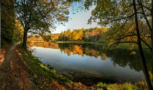 Park in Nizhny Novgorod.