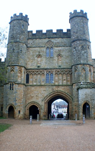 Gatehouse at Battle Abbey