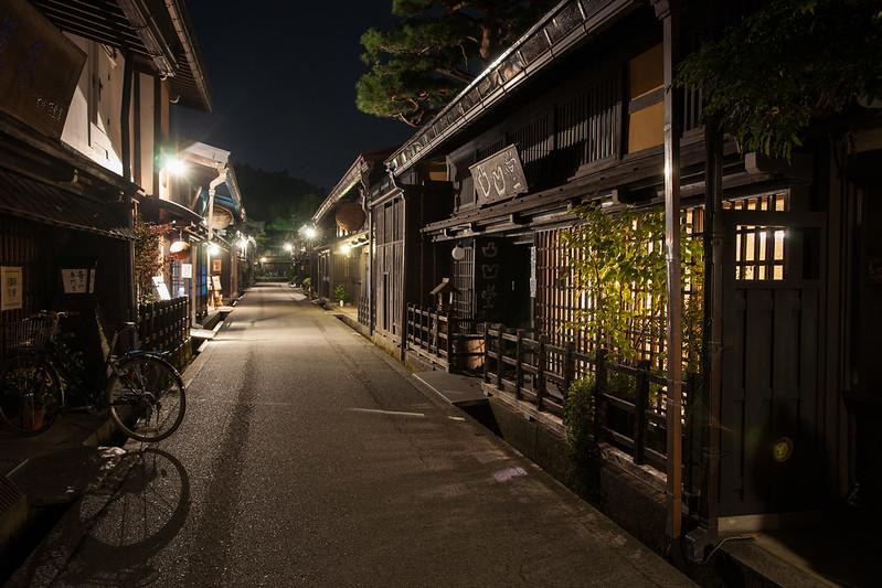 Night street of Takayama
