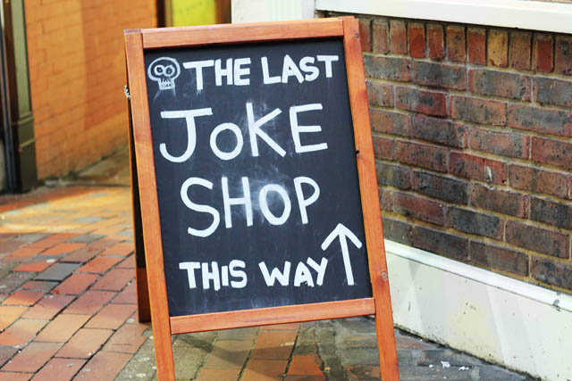 The last joke shop Brighton