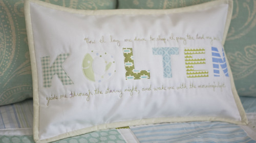 Child's Name Pillow