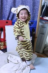 虎の着ぐるみとらちゃん (2012/10/18)
