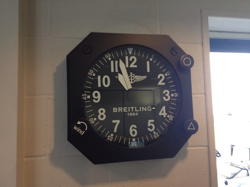 Spotted Breitling Wall Clock