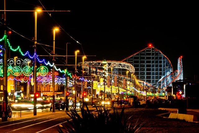 Blackpool Illuminations | A bit of long exposure in ...