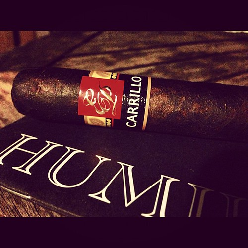 A little Core Line Maduro by @EPCarrillo action for the evening.