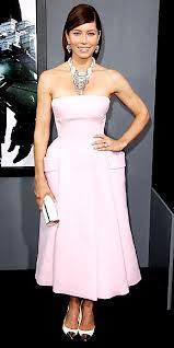 Jessica Biel Metallic Embellished Shoes Celebrity Style Women's Fashion