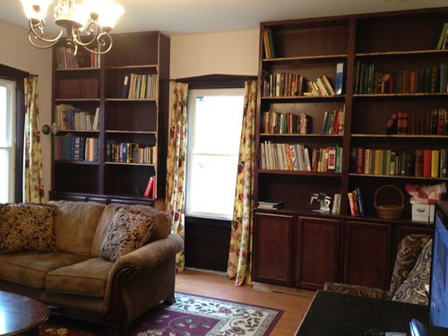 Bookcase Almost there